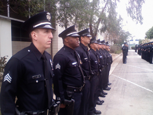 LAPD Blog: LAPD Foothill Division Formal Inspection