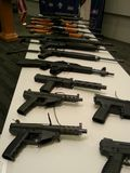 Gun Buyback NC 12-15-14 Gun Display
