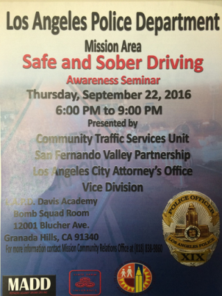 Safe and sober driving
