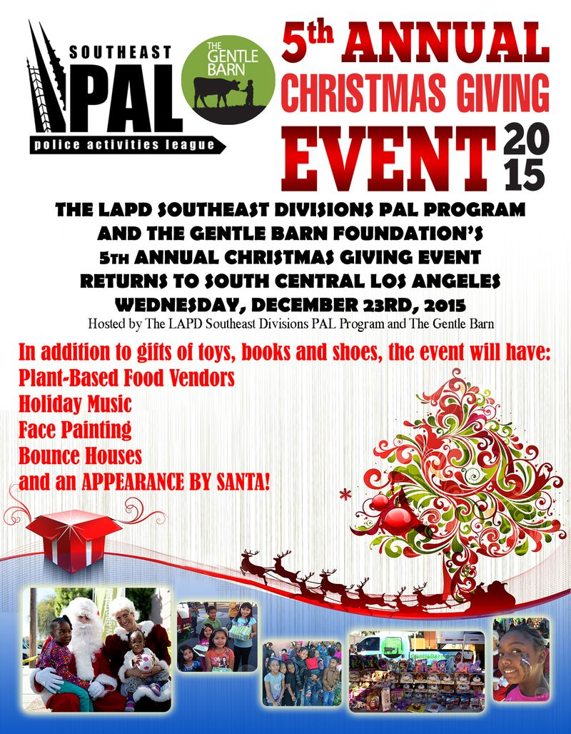 southeast toy giveaway flyer