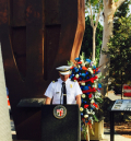 Police Chief w 23 ton steel of Twin Towers