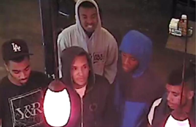 Robbery susps van nuys